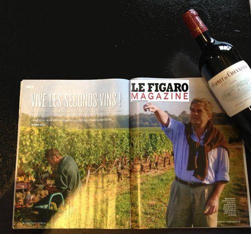 Figaro Magazine-ESPRIT DE CHEVALIER 2010 - Olivier BERNARD