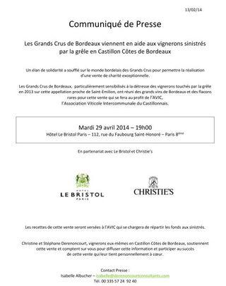 C. Presse Grele Vente Derenoncourt