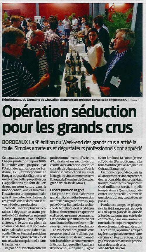 Week-End des Grands Crus 2014 - Sud Ouest - Rémi Edange