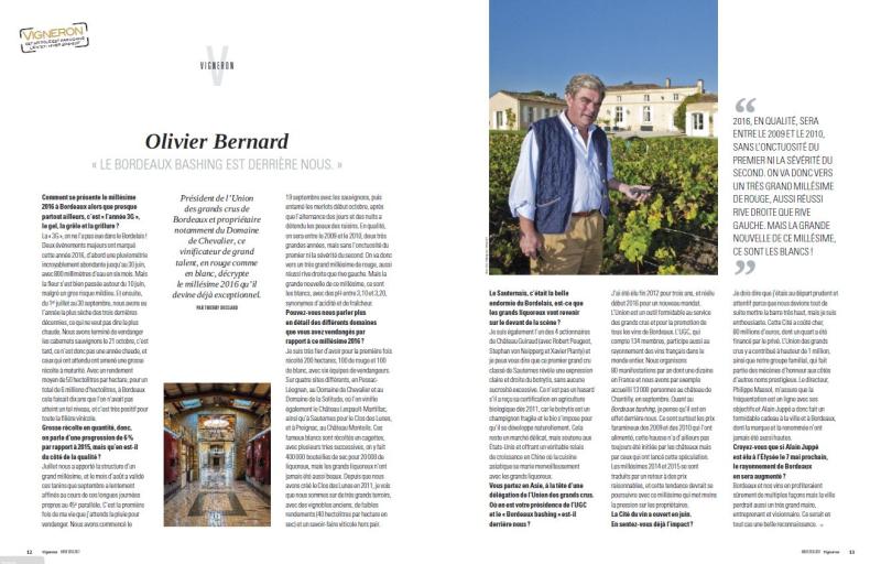 Vigneron Article Interview - décembre 2016