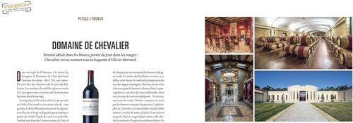 Vigneron Magazine Chevalier Cap.