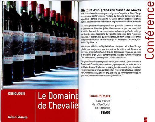 Cap. Culture Andorre - Domaine de Chevalier