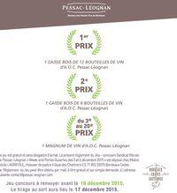 Jeu concours Portes Ouvertes Pessac-Léognan 2015