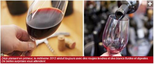 Revue du Vin de France - Dégustation 2012 Crus Classés