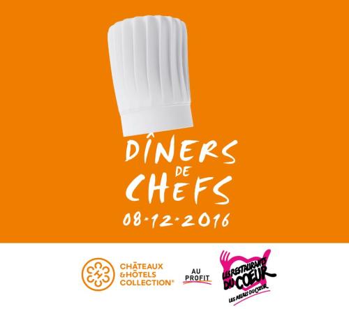 Diner des Chefs - Restos du Coeur-2016 -2